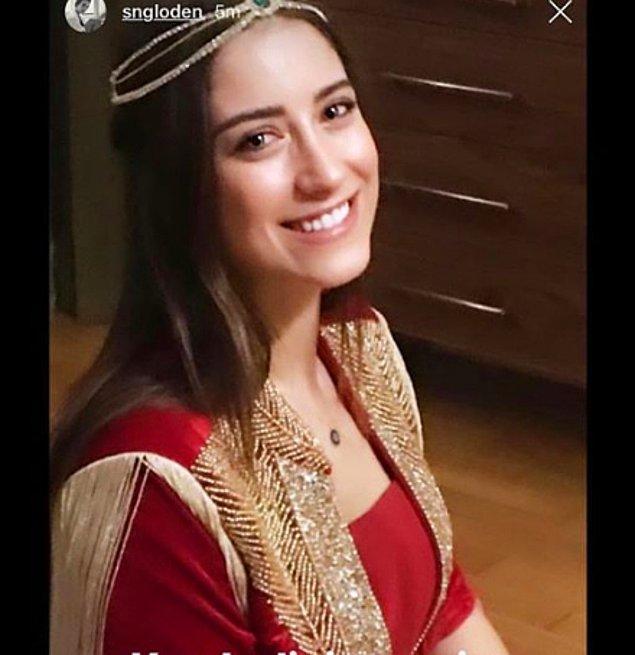 Ali Atay'la 6 Şubat'ta evlenecek olan Hazal Kaya'nın geçtiğimiz gün kına gecesi yapılmıştı.