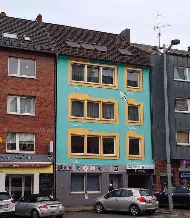 7. Gerçek Windows.