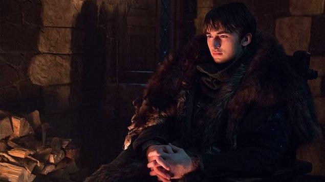 Bran Stark karakteriyle Isaac Hempstead Wright,