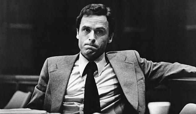 """1. """"Biz (seri katiller) sizin oğullarınızız, kocalarınızız ve sıradan ailelerde büyüdük."""" -Ted Bundy"""