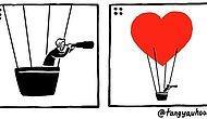 Love is?: 23 иллюстрации о том, что настоящая любовь полна сюрпризов