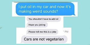 People Pranked Their Dad People Saying They Poured Olive Oil Into Their Cars!