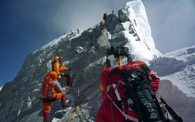 Son 8 yılda 20 bin kişi dağa tırmandı