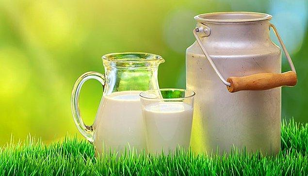 8. Az Yağlı Süt
