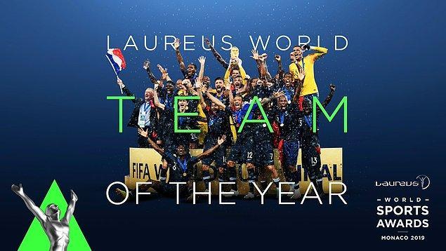 Yılın Takımı: Fransa Milli Futbol Takımı