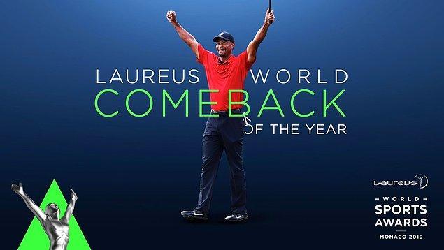 Yılın Geri Dönüşü: Tiger Woods