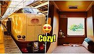 Extraordinary Japanese Sleeper Trains With Peaceful Interiors Proving Japan's Lightyears Ahead Of Everyone!