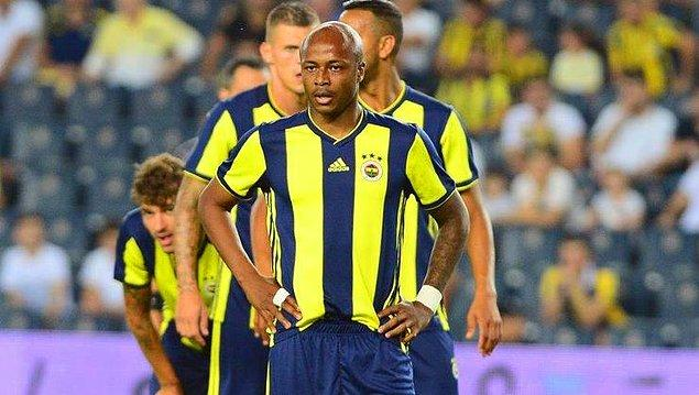 27. Andre Ayew - Fenerbahçe