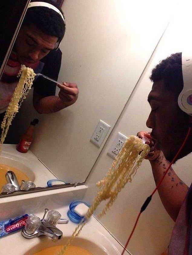 Когда неохота мыть кастрюлю