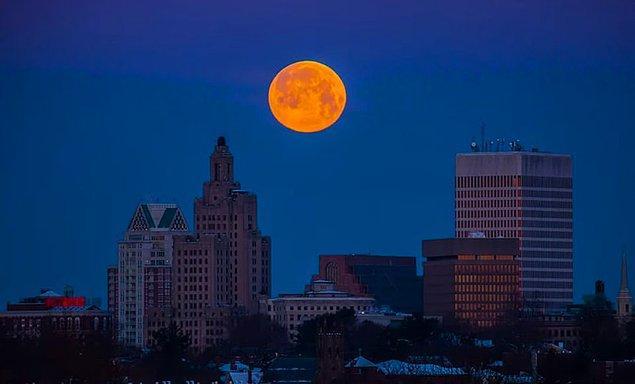 3. Süper Kar Ayı olarak anılan bu olayın geçmişi eskiden ayın mevsimleri değiştiriyor olduğuna inanılmasına dayanıyor.