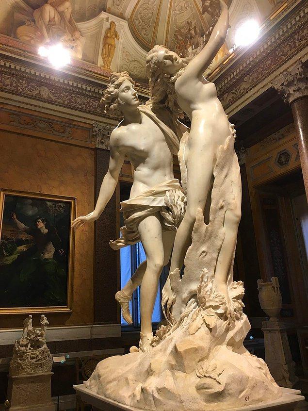 2. Apollo and Daphne, Gian Lorenzo Bernini, 1622-1625.
