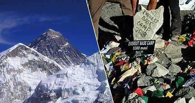 Xinhua Net'in haberine göre Tibet'in Qomolangma Tepesi Doğal Yaşam Parkı'nda yer alan ana kamp turist girişine tamamen kapatıldı.
