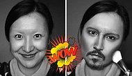 Как визажист из Китая в Джонни Деппа превращался: 11 фото от восточного гуру мейкапа