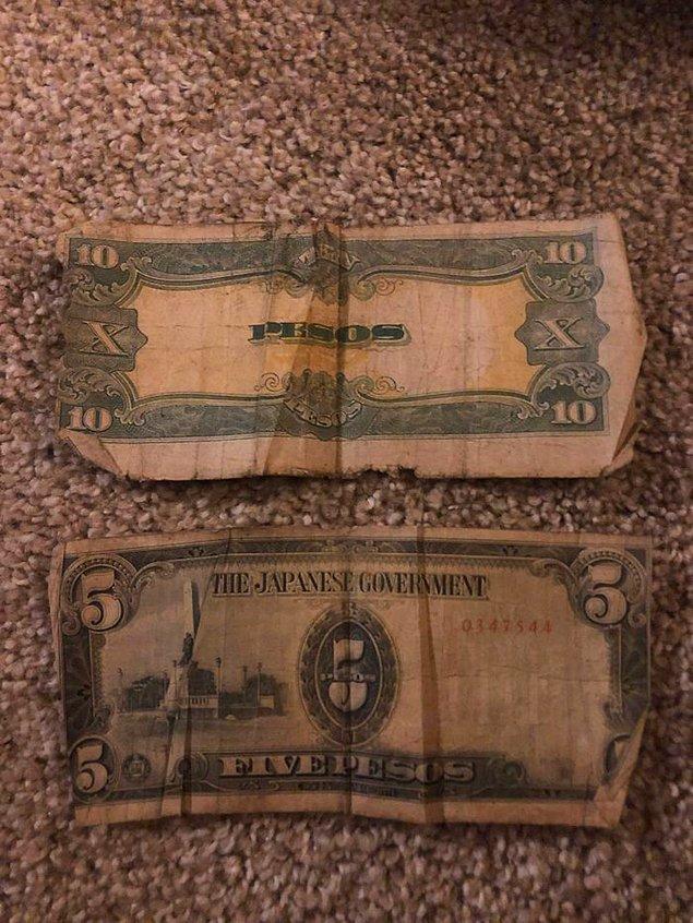 Bunu evde bir kitabın arasında buldum. Gerçek para olduğunu sanmıyorum.