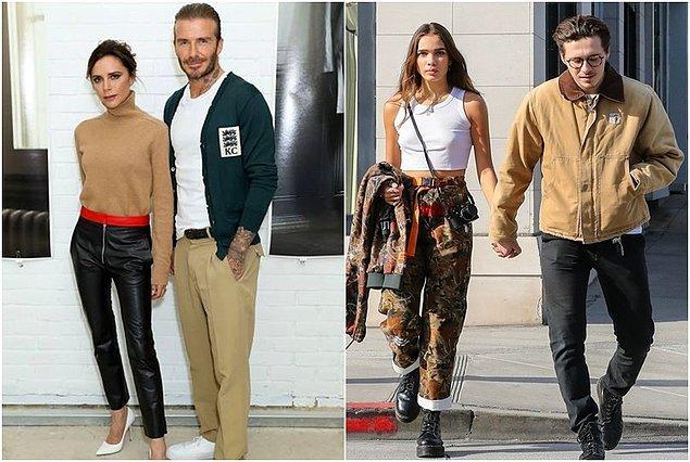 Ne dersiniz, yeni bir Beckham çifti mi doğuyor?