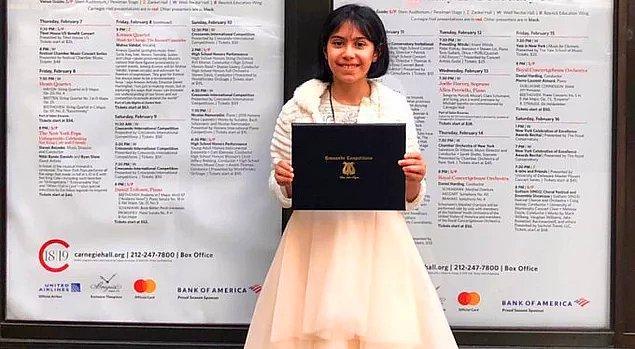 3. ÇEV Sanat'ın Genç Yetenekler projesindeki üstün yetenekli sanatçılar arasında yer alan 9 yaşındaki Arya Su Gülenç, Crescendo Uluslararası Müzik Festivali'nde büyük ödülü aldı.