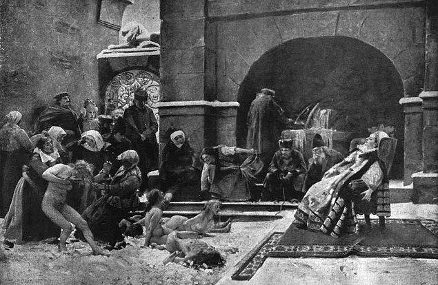 Kont, emrindeki bir grup askerle birlikte gece vakti Csetjhe Kalesi'ni bastı. Kaledeki korkunç görüntülere tanık olan askerler, bu manzara karşısında şaşkına dönmüşlerdi...