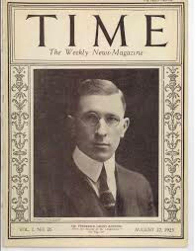 1923: Time dergisinin ilk sayısı yayımlandı.