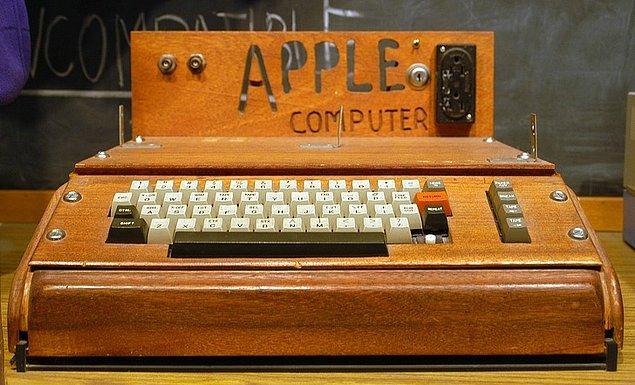 11. Ortak kuruculardan Steve Wozniak'ın icadı, Apple'ın ilk ürünü.