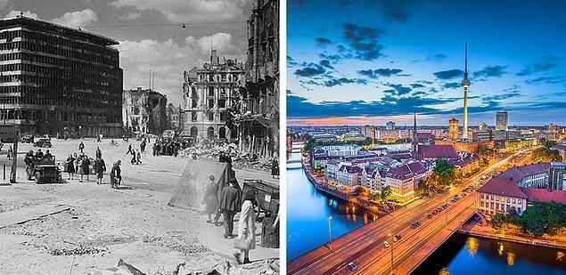 BONUS: 1945 Berlin'i ve günümüz.