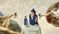 Русский художник подставляет «Любительницу абсента» Пикассо в другие известные картины, и это истерика