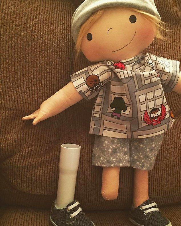 Amy, ürettiği her bebeğin mümkün olduğunca amaçladığı bebeğe her anlamda çok benzemesi için titiz çalışıyor.