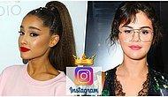Selena Gomez'i Tahtından Etti! Ariana Grande Instagram'ın En Çok Takip Edilen Kadını Oldu!