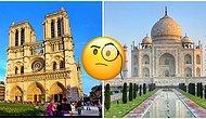 Тест: Сможете ли вы узнать все эти знаменитые шедевры архитектуры?
