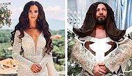 Блогер троллит российских звезд, пародируя их снимки в Instagram (15 фото)