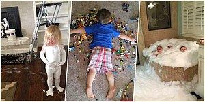 Struggle Is Real! 17 Naughty Toddlers Who Almost Give A Heart Attack To Their Parents
