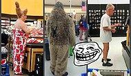 Странности повсюду: В американских магазинах можно встретить кого угодно