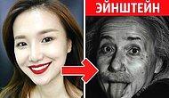 Китайский бьюти-блогер может превратиться в кого угодно: от Эйнштейна до Монро (17 фото)