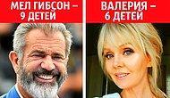 10 российских и зарубежных звезд, у которых оказалось гораздо больше детей, чем мы все думали