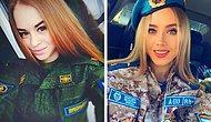 Красота — страшное оружие: 24 фото российских девушек в погонах