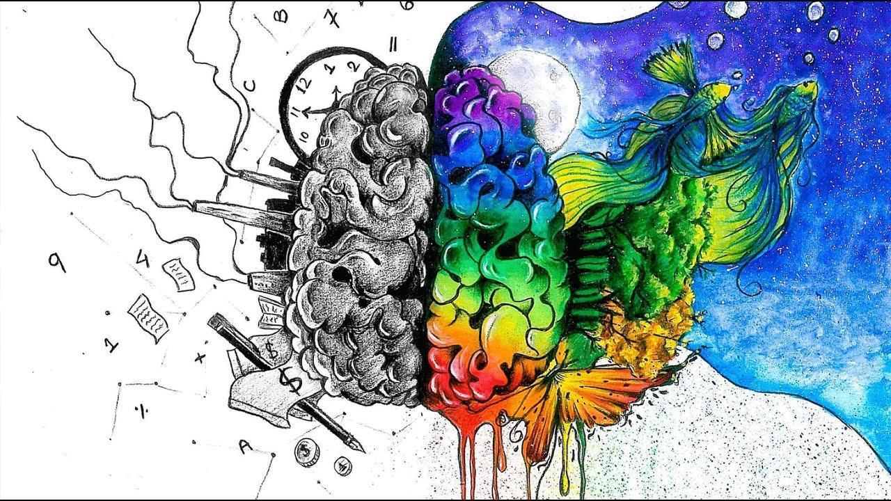 обнаженная мозг два полушария картинки сделать ангелочков звёздочки