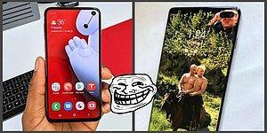 20 лучших обоев, созданных людьми, чтобы скрыть вырез камеры в новых смартфонах