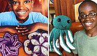 11-летний мальчик научился вязать крючком в 5-ти летнем возрасте и теперь даст фору любой бабушке
