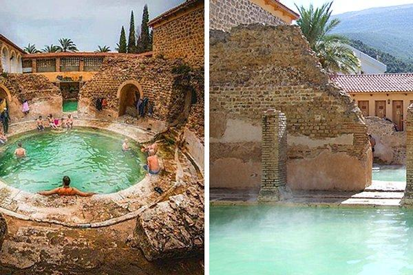 Древнеримская баня, которая была построена 2000 лет назад... и все еще работает: 10 фото