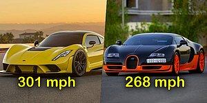 Top 10 Fastest Cars In The World That Will Make Your Jaw Drop!