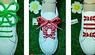 Невозможно налюбоваться: 12 удивительных способов шнуровки обуви