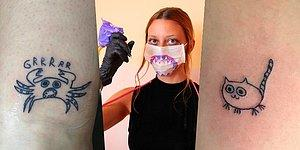 This Tattoo Artist Is Horrible At Drawing But That's Why Her Clients Choose Her!