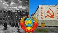 """Привет от дедушки Ленина: Слоган """"Слава труду!"""" по всему СССР в ретро-фото"""