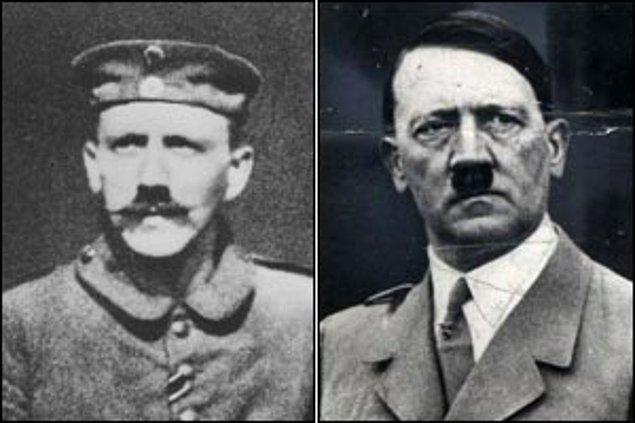 11. Hitler'in bıyığı aslında uzundu fakat Birinci Dünya Savaşı sırasında gaz maskesini daha rahat takabilmesi için diş fırçası boyutunda kesmesi emredilmişti.