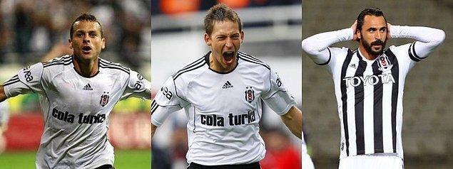 Beşiktaş formasıyla en çok gol atan 3 yabancı futbolcu: