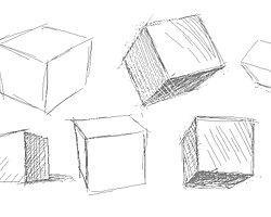 Как правило, кубики рисуют люди, желающие быть конструктивными