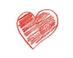 Как правило, сердечки рисуют влюбленные люди
