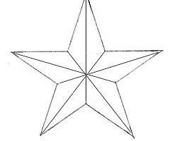 Как правило, звезды рисуют люди, которые находятся в ожидании чего-либо