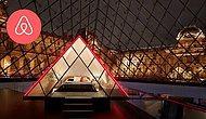 Airbnb дает возможность выиграть шанс провести ночь в стеклянной пирамиде в Лувре