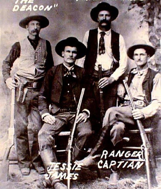 2 yıl sonra ise artık Jesse James efsanesi başlayacaktır. Jesse ve Frank James, Younger çetesine katılırak 1868 yılında Kentucky'de ilk banka soygununu gerçekleştirdiler.