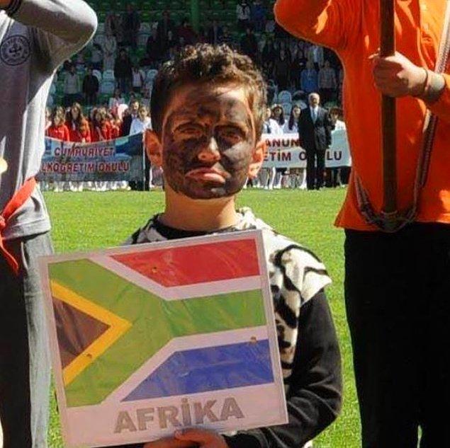 7. Afrika olduğuna emin miyiz?